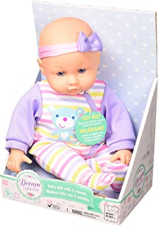 """DREAM COLLECTION 14"""" Chatter & Coo Girl Baby Doll"""