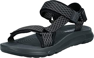 Skechers Velcro Strap Sandal For Men, Black