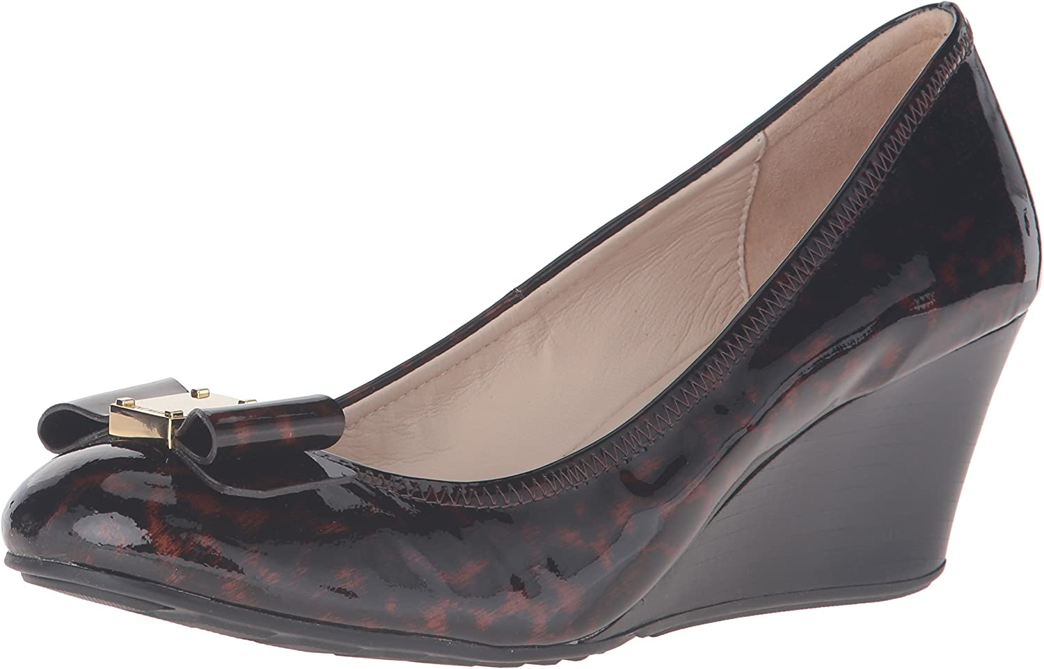Cole Haan Womens Tali Grand Bow Wdg65 Wedge Pump