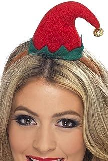 Smiffys Smiffys Damen Mini Elfen Hut auf Haarreif, One Size, 23450