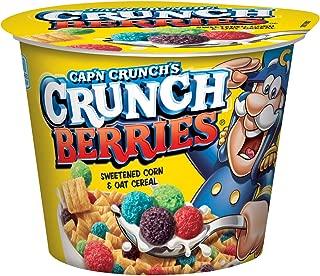 Cap'n Crunch Crunch Berries Breakfast Cereal, 1.3 oz, 12 Individual Cups