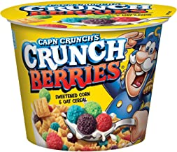 Cap'n Crunch Crunch Berries Breakfast Cereal, 1.3 oz, 12 Individual Cups