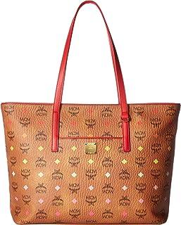 MCM Womens Anya Spektrum Visetos Shopper Medium