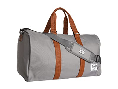 Herschel Supply Co. Novel (Grey/Tan) Duffel Bags