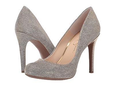 Jessica Simpson Calie (Gold Multi) High Heels