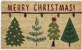 DII Indoor/Outdoor Natural Coir Holiday Season Doormat, 18x30, Merry Christmas