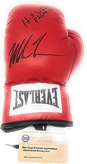 signed nfl gloves