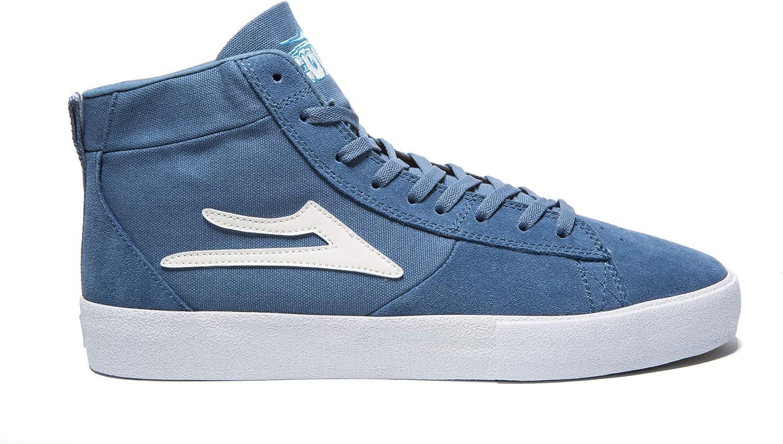 Lakai Unisex's Footwear Summer 2019 New Port HI bluee Suede Size 11 Tennis shoes, M US