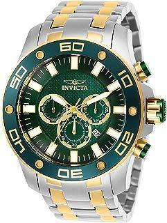 Invicta Men's Pro Diver Analog Quartz Chronograph Blue/Green Stainless Steel Watch