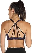 icyzone سینی سینه بند ورزشی پرشده یوگا برترین لباس تمرین لباس ورزشی برای زنان