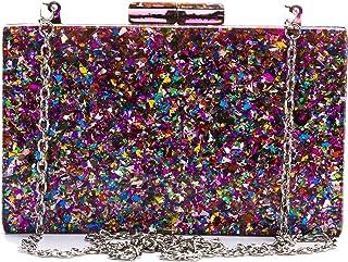 Bolsos de embrague de perlas para mujer Glliter Banquete Bolsos de noche