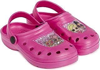 L.O.L. Surprise ! Chaussures Fille avec Poupées Lol Diva, Fancy, Rocker | Sandales Fille pour L'été, Plage, Piscine, Vacan...