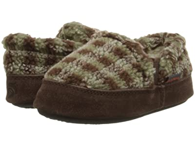 Acorn Kids Colby Gore Moc (Toddler/Little Kid/Big Kid) (Brown Check) Boys Shoes