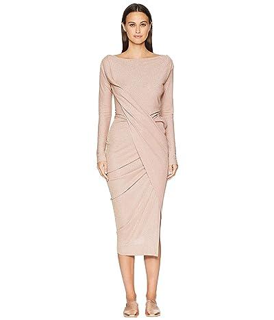 Vivienne Westwood Long Sleeve Vian Dress (Flesh) Women