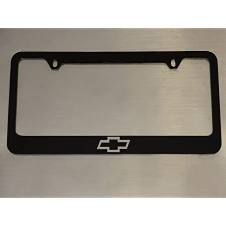 Licensed Mirrored Inverted License Plate Frame for Chevy AUGD4137