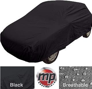 MP Essentials - Funda para coche para interior y exterior, resistente al agua y transpirable, color negro