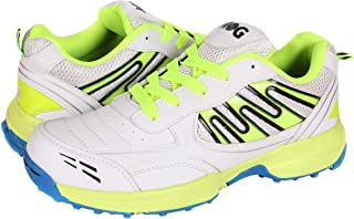 MG Cricket Shoes Rubber Spike Cricket, Hockey Sports Studs Indoor Out Door Trek Shoes