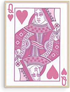"""Queen of Hearts Pink Decor - By Haus and Hues 