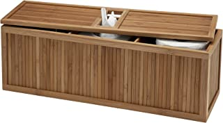 Creative Bath 3-in-1 Tank Topper, Natural/Bamboo