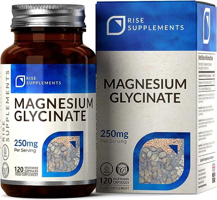 Magnesio glicinato 120 compresse 5060503213029