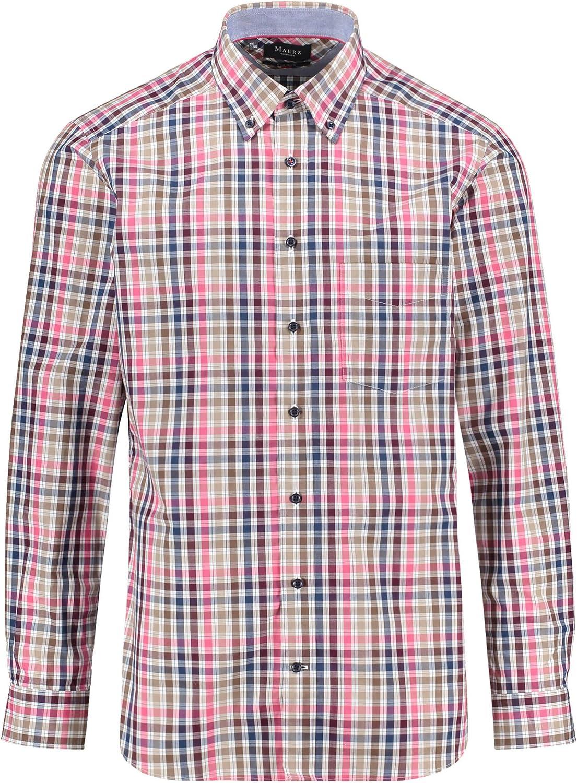 Maerz Muenchen Herren Herren Herren Freizeithemd Regular Fit Langarm B07K4WPPKL  Professionelles Design 0a8158