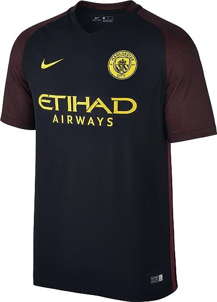 NIKE Manchester City M SS AW Stadium JSY Camiseta de Manga Corta Hombre