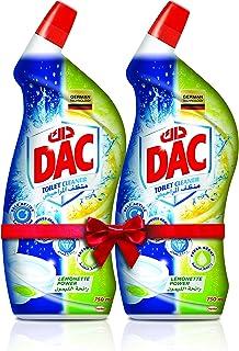 Dac Toilet Cleaner Lemon 2 x 750 ml