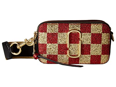 Marc Jacobs Snapshot Checkerboard (Gold Multi) Handbags