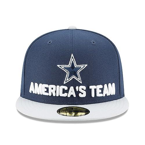 Dallas Cowboys New Era 2018 Draft Mens Fan Gear 9Fifty Cap e80e6bd99
