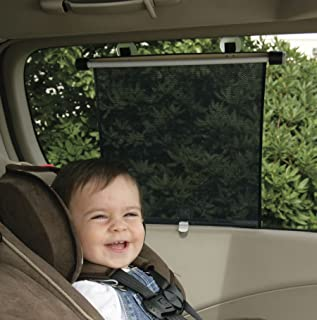 SAFETY 1ST Complete Coverage Car Window Roller Shade (Pack of 2) 14x17'' Wide