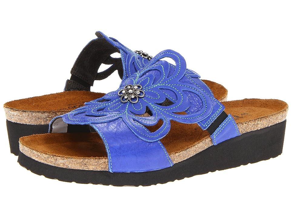 Naot Sandy (Royal Blue Leather) Women