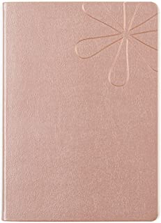 Erin Condren 12 - Month 2020 Softbound Life Planner A5 (January - December 2020) - Shimmer Rose Gold, Horizontal (Colorful Layout)