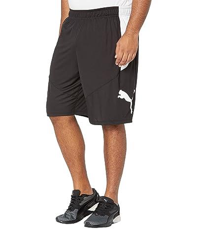 PUMA Big Tall Cat Shorts (Puma Black/Puma White 1) Men