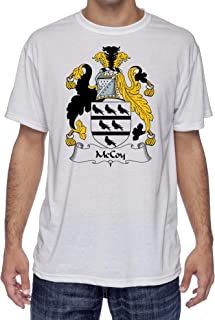 McCoy Coat of Arms-Family Crest, Moister Wicking Sports T-Shirt