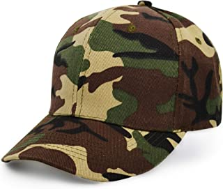 UltraKey Baseball Cap, Army Military Camo Cap Baseball Casquette Camouflage Hats for Hunting Fishing Outdoor Activities