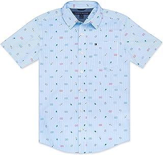 Tommy Hilfiger Boys' Short Sleeve Woven Shirt