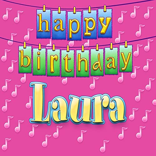 Happy Birthday Laura Personalized