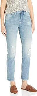 Marque Amazon - Goodthreads Mid-Rise Slim Straight Jeans Femme