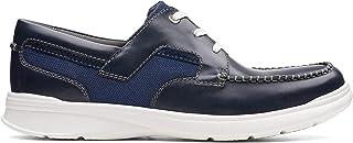 Clarks Cotrell Cove, Men's Men Shoes, Blue (Navy Leather), 9.5 UK (44 EU)