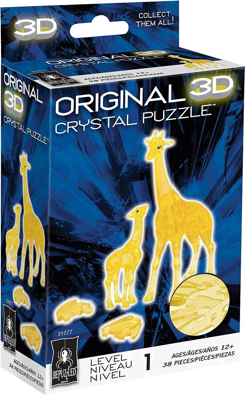 2. Original 3D Crystal Jigsaw Puzzle - Giraffe & Baby