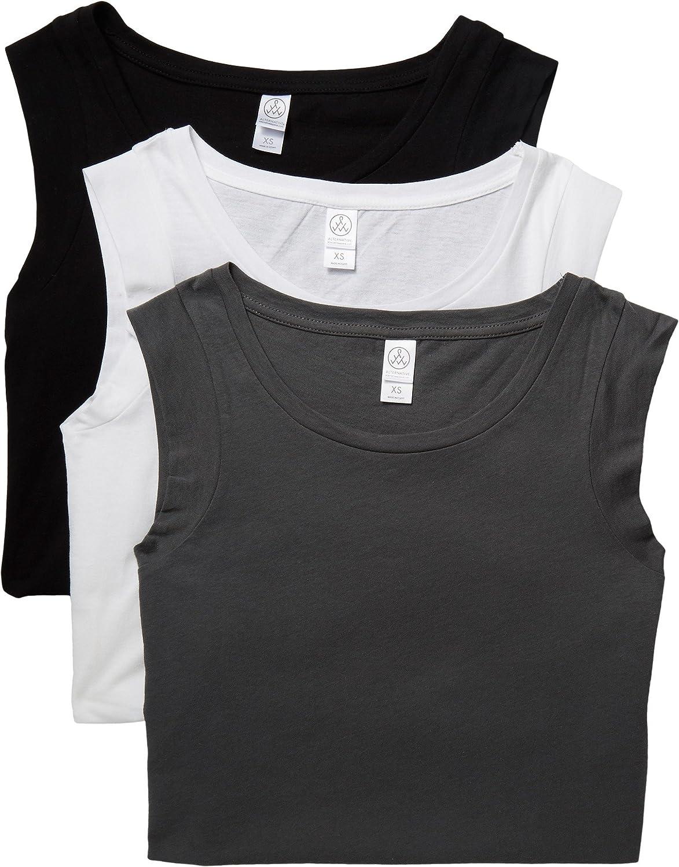 Alternative Womens Luxe Cap Sleeve Crew Tee Bundle Set TShirt