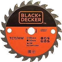 BLACK+DECKER A7525-XJ Hojas TCT 85x10 24T