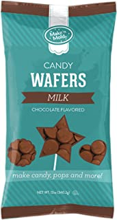 Make N Mold Milk Chocolate Flavored Melting Wafers, 12 Ounce