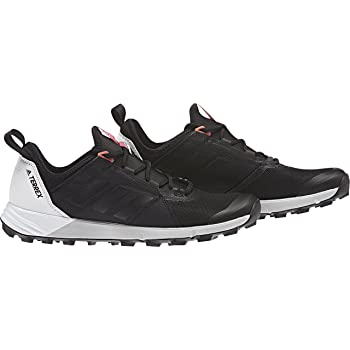 adidas Terrex Agravic Speed Shoe - Womens Trail Running 7.5 Black/White