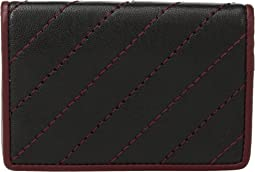 Napoli Quilted Calling Card Case