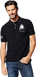 Lamborghini Men's Bull 1963 Polo Shirt Black