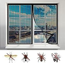 Magnetisch vliegenscherm, magnetische sluiting muggenvenster scherm sluit automatisch af zonder boren anti-muggen, voor al...