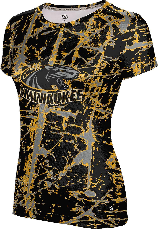 University of Wisconsin-Milwaukee Girls' Performance T-Shirt (Distressed)