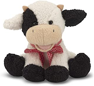 Melissa & Doug Meadow Medley Calf - Stuffed Animal Baby Cow With Moo Sound Effect - coolthings.us