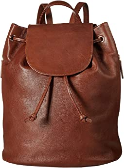 Cloe Leather Backpack
